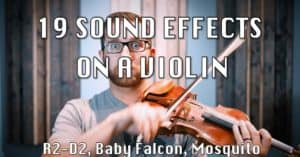 sound effects violin