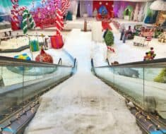 Casey Neistat abandoned mall winter wonderland
