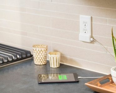 SnapPower USB Charger Outlet Wall Plate Cover