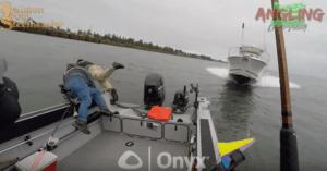boat crash Columbia river