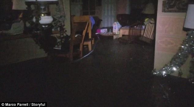 Montecito California flash flood mudslide video