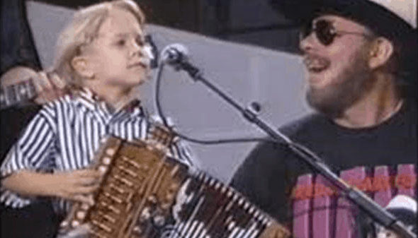 Hunter Hayes Accordion Hank Williams Jr