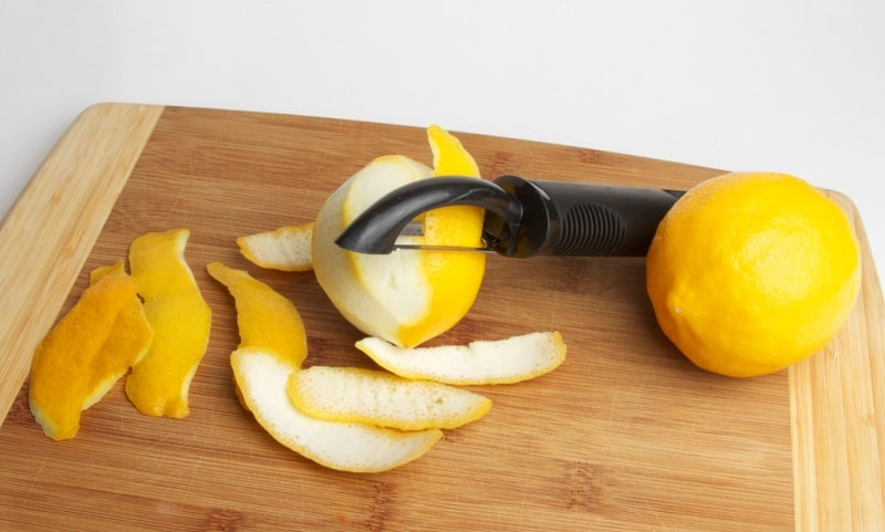 lemon peel health benefits