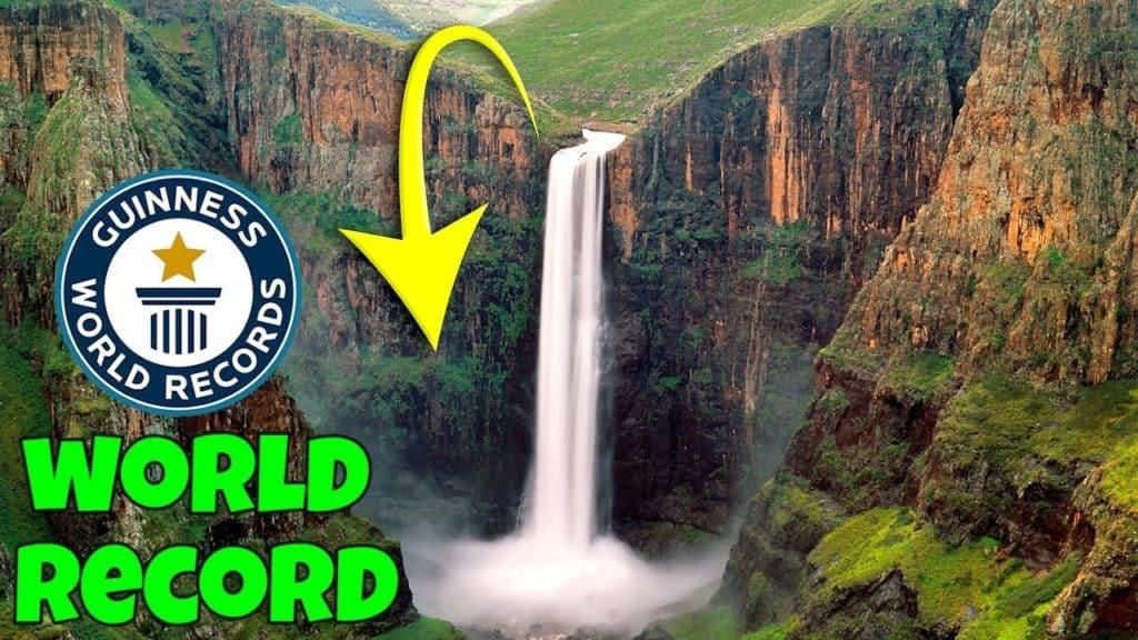 Guinness World Record Worlds Highest Basketball Shot