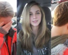 dad cuts daughters hair off