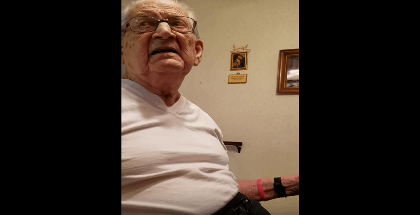 grandpa find out how old he is
