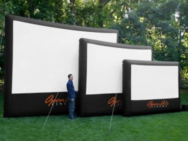 These Outdoor Inflatable Movie Screens Are A Must Have