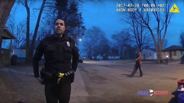 police officer fights teen