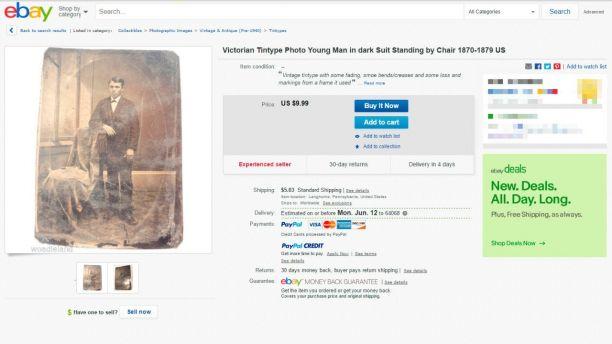 rare jesse james photo ebay