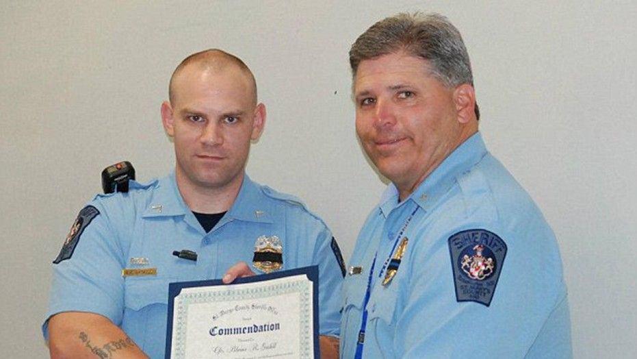 maryland school shooting resource officer hero