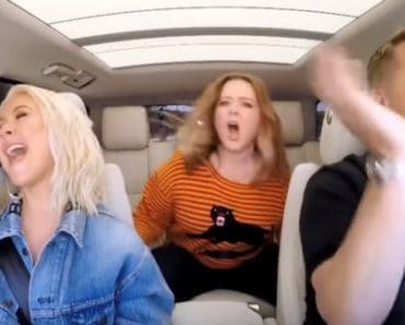 Christina Aguilera Melissa McCarthy carpool karaoke