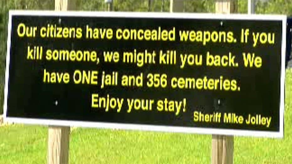 sheriff concealed carry sign