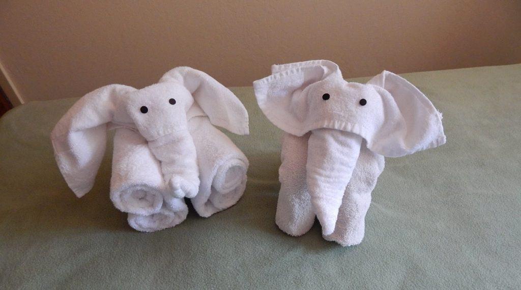 diy towel animals