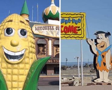 roadside attractions tourist destinations