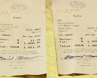 truck driver leaves waitress two big tips