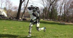 robot jumping running climbing