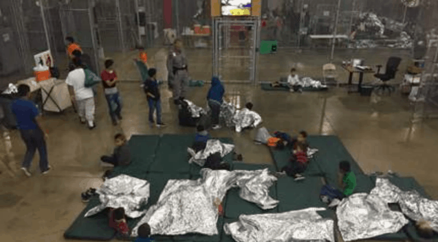 kids separated from their parents