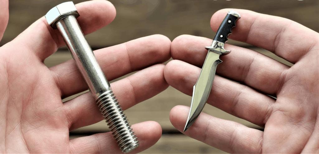 Bobby Duke Knife Bolt