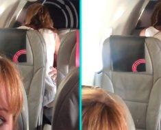 couple sex plane mexico flight