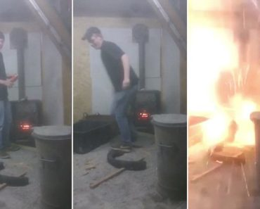 aerosol can wood stove