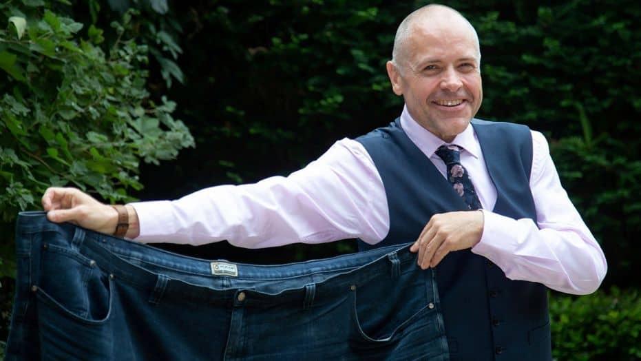 man loses weight walking 6000 miles healthy diet